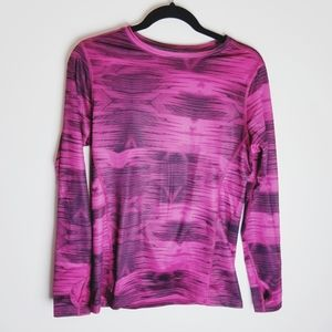 Champion Duofold Vapor athletic workout pink shirt